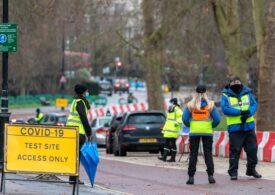 Marea Britanie a raportat peste 1.000 de morți de COVID în 24 de ore