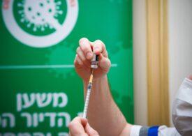 Peste un milion de persoane din Israel au primit deja ambele doze de vaccin antiCovid. S-a început imunizarea adolescenţilor