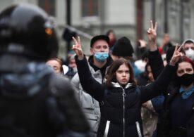 """Protestele din Rusia, în imagini: """"M-am săturat să mă tem! E lagăr de prizonieri!"""" (Galerie foto)"""