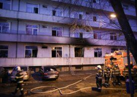A mai murit un pacient internat la Matei Balș când a izbucnit incendiul. Bilanțul negru urcă la 18 decese
