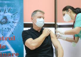 Preşedintele Iohannis s-a vaccinat împotriva coronavirusului: Nu doare! Acest vaccin e sigur şi eficient