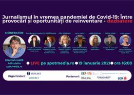 Pandemia de fake news e la fel de gravă precum cea de COVID, însă tinerii i-ar putea fi vaccinul - dezbatere SpotMedia.ro