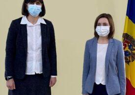 Maia Sandu s-a întâlnit cu Laura Codruța Kovesi: R.Moldova vrea să colaboreze cu Parchetul European