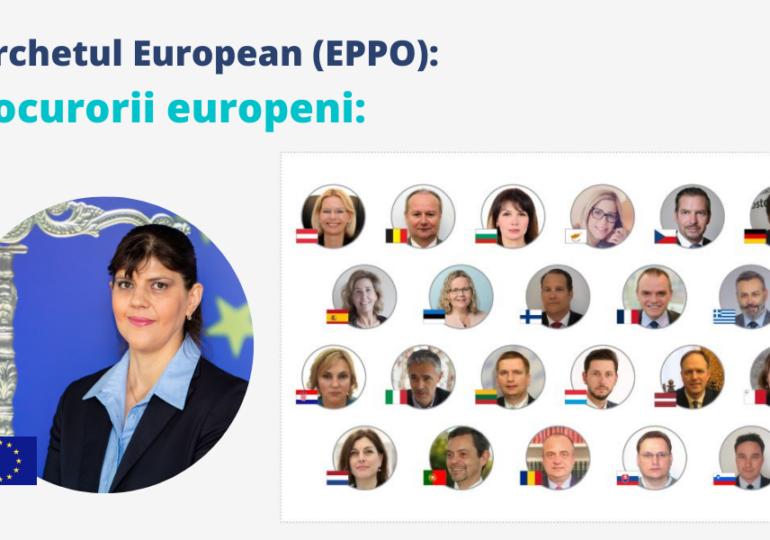 16 persoane şi-au depus candidatura pentru cele 15 posturi de procuror european delegat în România