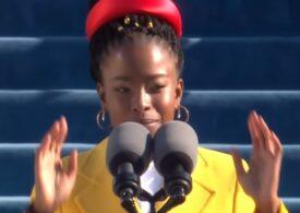 O tânără poetă afro-americană a făcut senzaţie la ceremonia de învestitură a lui Biden (Video)