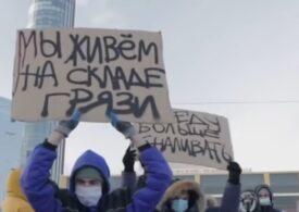 Proteste violente în Rusia: Peste 5.000 de oameni au fost reținuți, inclusiv jurnaliști și soția lui Navalnîi, un record absolut. Şeful diplomaţiei UE critică forțele de ordine (Video)