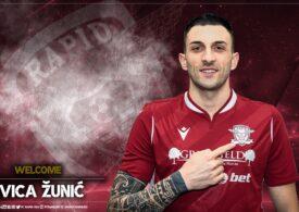 Rapid a transferat de la CFR Cluj
