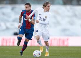 Surpriză în Primera Division: Real Madrid, învinsă pe teren propriu