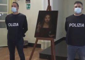 Un tablou ''Salvator Mundi'', realizat de un discipol al lui Leonardo da Vinci, recuperat din apartamentul unui napolitan