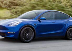 Tesla a lansat o variantă Standard pentru Model Y, cu 8.000 de dolari mai ieftină