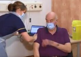 "Cine e primul britanic căruia i s-a administrat vaccinul ""naţional"" AstraZeneca/Oxford (Video)"