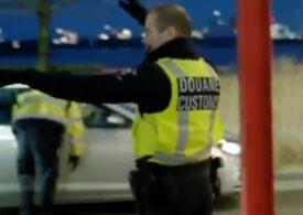 Vameșii olandezi confiscă inclusiv sandvișurile șoferilor britanici: Bine ați venit în Brexit, domnule, îmi pare rău! (Video)