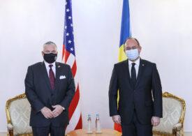 Ambasadorul SUA la Bucureşti îşi încheie mandatul. Zuckerman a fost în vizită de rămas-bun la MAE