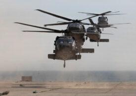 30 de elicoptere de atac americane vin la baza de la Mihail Kogălniceanu