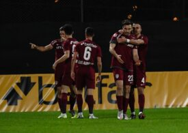 Liga 1: CFR Cluj învinge Dinamo cu mari emoții