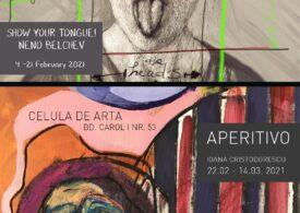 """Galeria neconvențională """"Celula de artă"""" aduce două expoziții în București, în februarie"""