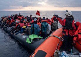 O navă germană a salvat în câteva ore aproape 150 de migranți care pluteau în derivă încercând să ajungă în Europa pe mare