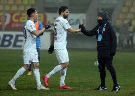 Liga 1: CFR Cluj se impune la limită cu Gaz Metan Mediaș și o egalează pe FCSB