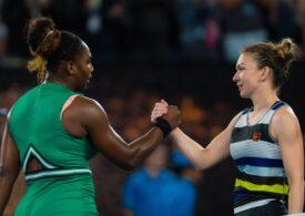 Serena Williams este favorita pariorilor în vederea înfruntării cu Simona Halep în sferturile de la Australian Open
