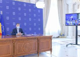 Iohannis anunță 3 miliarde de euro pentru sănătate, 4 miliarde pentru educație și 4,5 miliarde pentru autostrăzi, prin PNRR