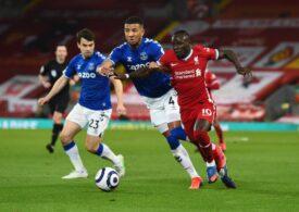 Liverpool pierde încă un meci în Premier League, chiar derbiul cu Everton și egalează un record negativ de 98 de ani