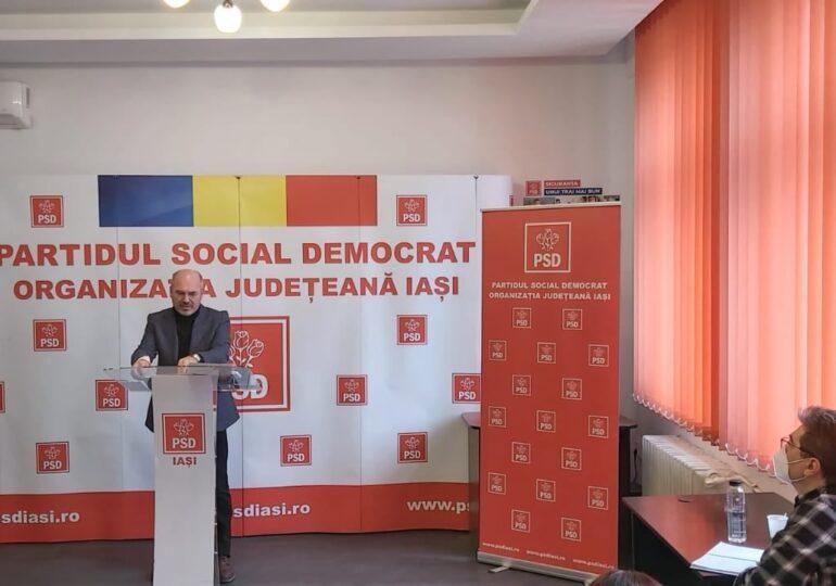 Şeful PSD Iaşi nu exclude alianţa cu PNL în Consiliul Local. Chirica: Sunt oameni responsabili şi în PSD şi în PNL. Sunt convins că şi în USR-PLUS