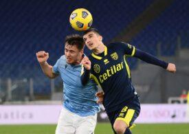 Mihăilă, decisiv pentru Parma în egalul dramatic cu Udinese. Cum a evoluat Dennis Man