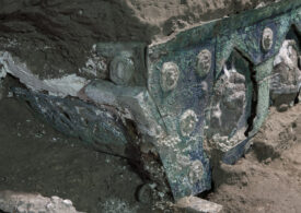 Descoperire arheologică unică, fără precedent în Italia, în apropiere de Pompeii, orașul dispărut  (Foto & Video)