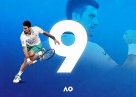 Prima reacție a lui Novak Djokovici după ce a câștigat finala de la Australian Open