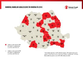 Harta mamelor minore: Copiii cu copii, un fenomen pentru care România își dispută cu Bulgaria primul loc din UE