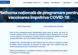 Platforma de vaccinare schimbă sistemul de programări: În fiecare zi se vor adăuga noi locuri pentru AstraZeneca