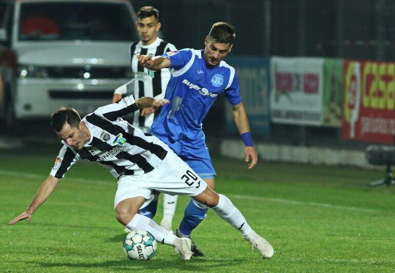 Liga 1: Astra Giurgiu câștigă un meci spectaculos la Iași, cu cinci goluri marcate