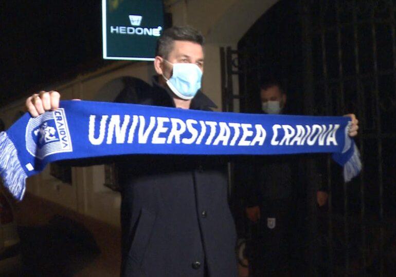 Universitatea Craiova are un nou antrenor