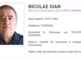 """Ioan Niculae a fost dat în urmărire. Polițiștii nu l-au găsit acasă <span style=""""color:#ff0000;font-size:100%;"""">UPDATE</span> """"Sunt în Italia, la o clinică, internat"""""""