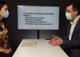 Vlad Voiculescu și Clotilde Armand demontează acuzațiile pe tema spitalelor: Cum am ajuns principalii inamici ai Mafiei