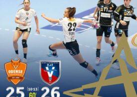 Victorie dramatică pentru SCM Râmnicu Vâlcea la Odense, în Liga Campionilor