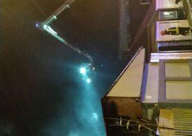 Incendiu de proporţii în Sectorul 5 al Capitalei