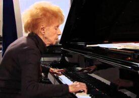 """O pianistă franceză în vârstă de 106 ani va lansa un nou album: """"Muzica e hrana mea pentru spirit şi pentru inimă"""""""
