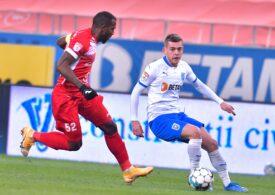 Liga 1: Universitatea Craiova se apropie de FCSB și CFR Cluj