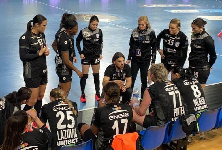 CSM București pierde ultimul meci din grupele Ligii Campionilor