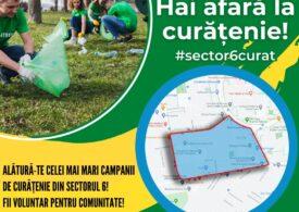 Primarul Ciucu a început curățenia generală în Sectorul 6: Nu am crezut că pot exista atâtea capace de bere pe spațiul verde!