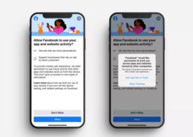 Facebook se roagă de utilizatorii de iPhone şi iPad să-i dea voie să le colecteze datele personale