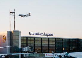 Zeci de zboruri au fost anulate sau amânate pe Aeroportul din Frankfurt, din cauza dronelor