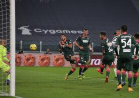 Un copil de mingi a blocat un gol ca și făcut în Algeria (Video)