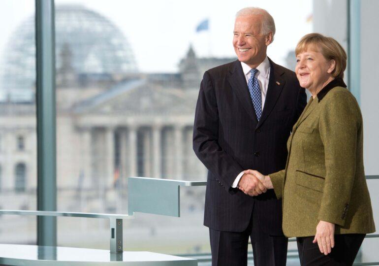 Mâna întinsă a lui Biden către Merkel și Macron