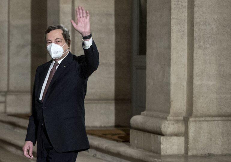 Mario Draghi a depus jurământul ca premier al Italiei