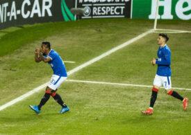 Rangers s-a calificat în optimile Europa League - Ianis Hagi a jucat 71 de minute