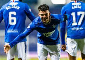 Ce scrie presa scoțiană după o nouă evoluție de senzație a lui Ianis Hagi la Rangers