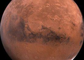 Prima imagine de pe Marte trimisă de sonda spaţială arabă Al-Amal