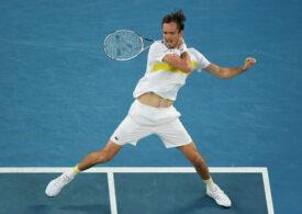 Daniil Medvedev, în finala de la Australian Open